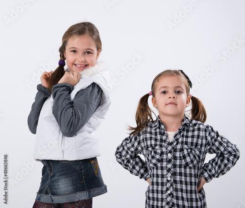 two little models