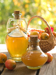 Apple cider or vinegar