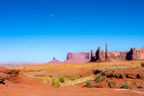 monument valley moon