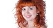 portrait of beautiful redhead