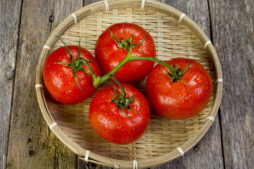 Fresh Ripe tomatoes.