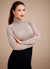 Glamorous professional woman