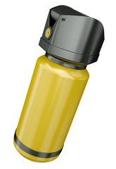 Pepper spray container, 3D render