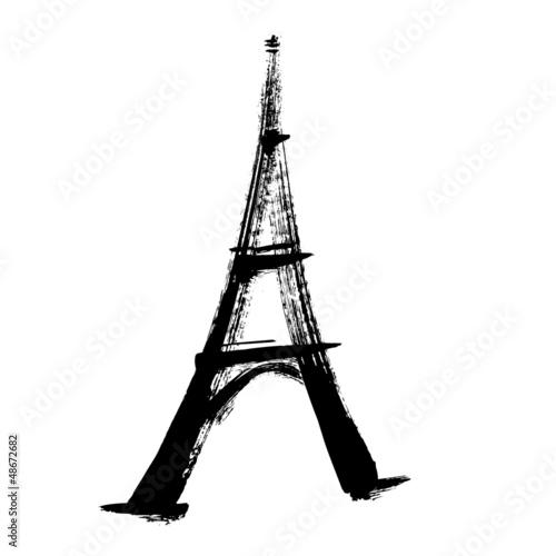埃菲尔铁塔剪影qq头像