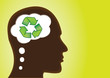Thinking - Recycle, Save Earth, Environment