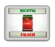 3D Schalter II - Richtig - Falsch