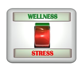3D Schalter II - Wellness - Stress