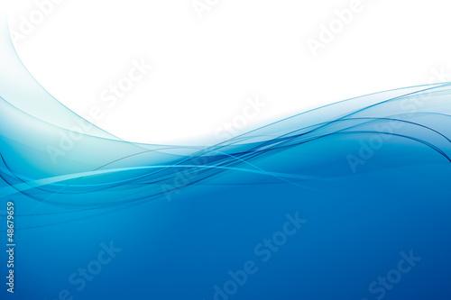 Fond océan bleu