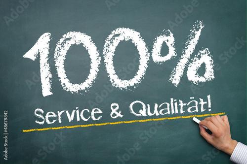 100% Service & Qualität