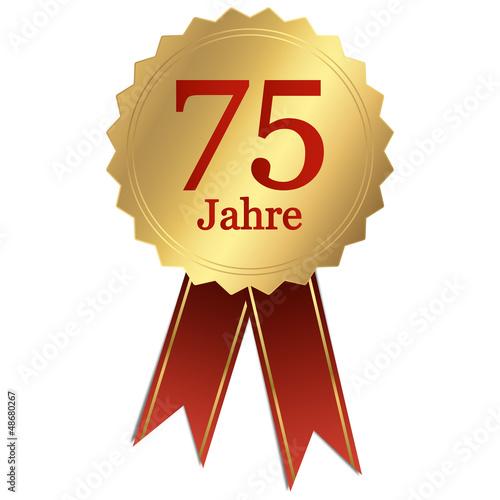 Jubiläum - 75 Jahre