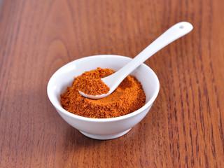 red powder pepper