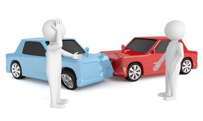 Autounfall Ärger