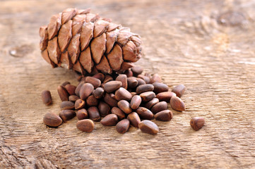 Siberian pine nuts