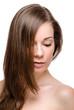 Beautiful woman hair