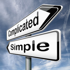 complicated or simple