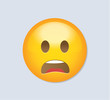 Emoticon - disappointed