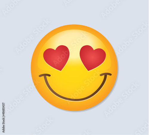 Emoticon - In love