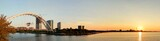 Toronto sunrise panorama