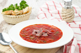 ukrainian national red borsch