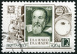 USSR - 1964: shows Galileo Galilei (1564-1642)