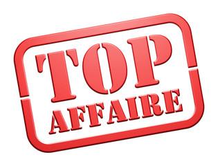 """Cachet """"Top Affaire"""""""