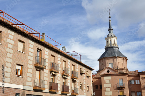 Downtown of Alcala de Henares, Madrid (Spain)