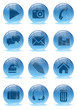 Abstract 3d icons set