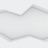 Zigzag cavity poster