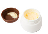 cosmetic cream in container