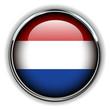 Holland flag button