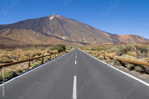 Road to Mount Teide