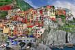 scenic Italy. Monarolla village, Cinque terre