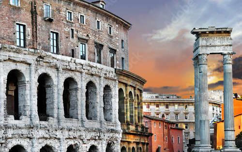 great Roma, theater of Marcellus - 48694419