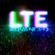 LTE ADVANCED highspeed concept zwischen Menschen