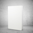 front view of blank book