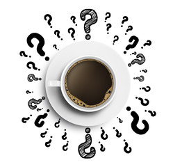 cup and question