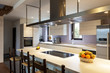 Beautiful modern loft, view of the kitchen