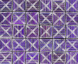 3d cross abstract striped tile backdrop in purple lavender