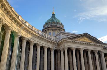 Колоннада Казанского собора. Санкт-Петербург, Россия