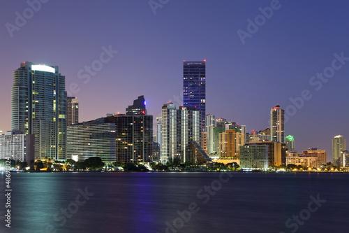 Miami Skyline.