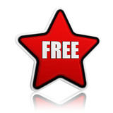 free in red star