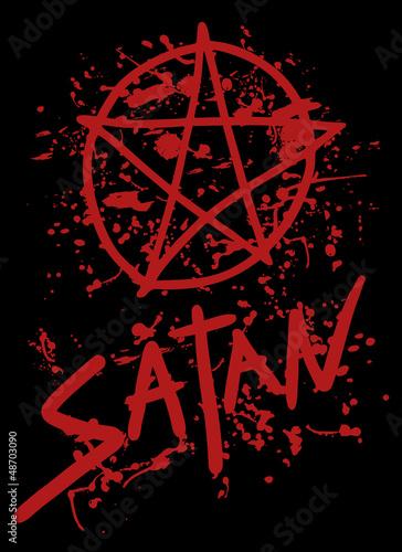 Satan blood culte