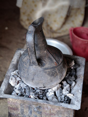 caffettiera africana