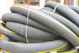 Rubber tube of large diameter from stock company poster