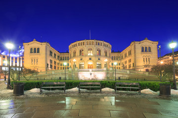 Oslo Parliament Norway