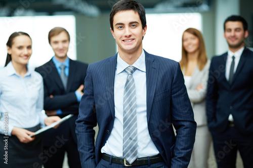 Male leader