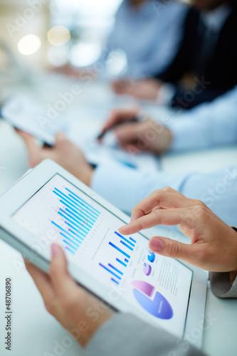 Obtaining statistics