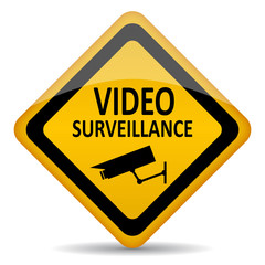 Vector video monitoring sign