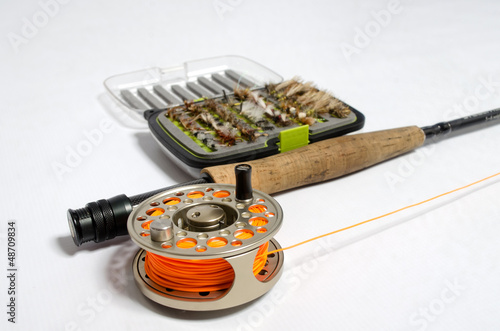Trout fishing equipment