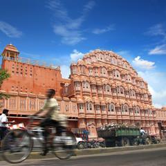 Inde - Hawa Mahal à Jaipur -